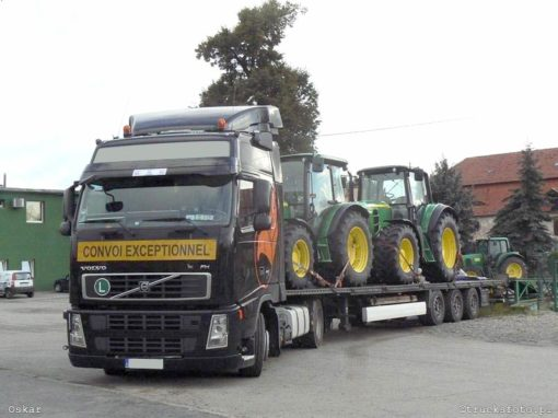 Agricultural vehicles towards PL