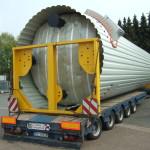 Bitumenanlage D-31 nach PL 87 Bitumentank1464 x 360 x 355 cm April 2011 (2)