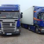 Frigo ADR Transporte D 38 nach Westeuropa