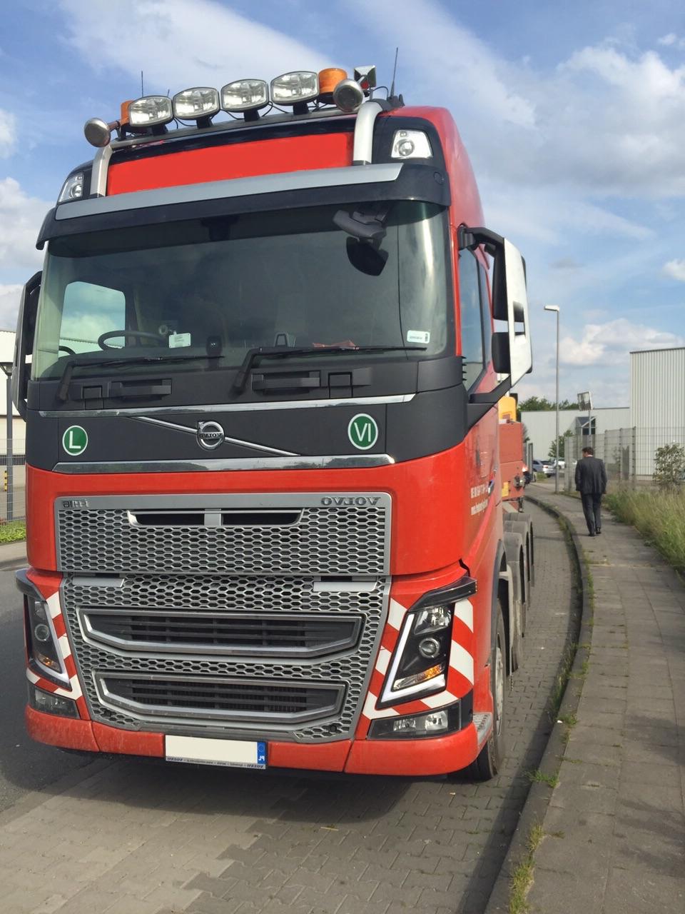 Truck der Spedition Focus Sped für jegliche Transportart.